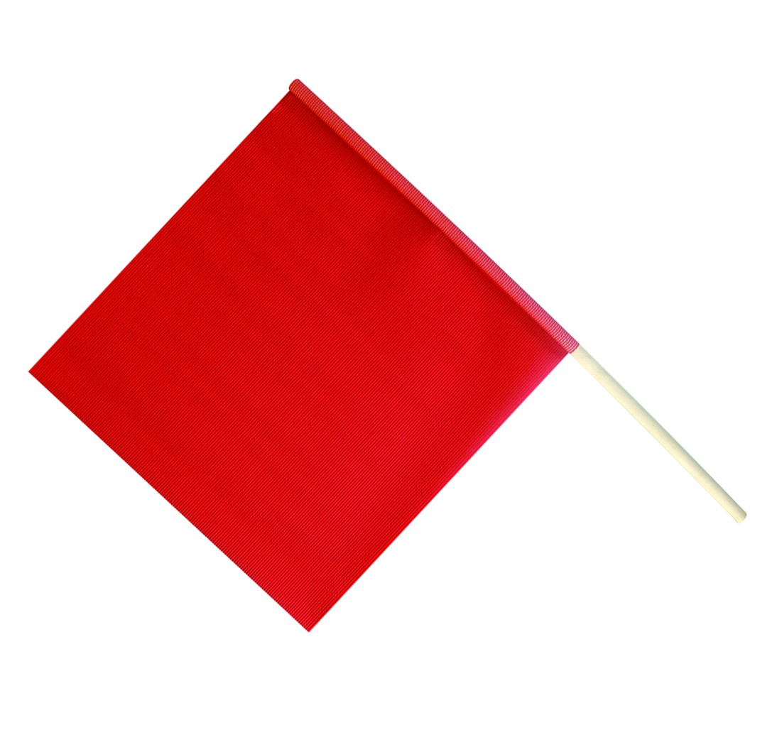 Safety Flag w/ Wooden Dowel