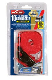 "S-Line 1"" x 10' Cambuckle Strap w/ S-Hook (Bundle)"