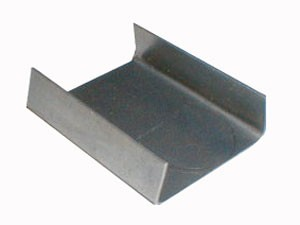 "Steel Strapping Seal (3/4"" Overlap)"
