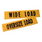 "Wide Load/Oversized Load Truck Banner (72"" x 14"")"